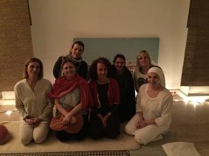 Jio yoga y meditacion. dia internacional de la mujer