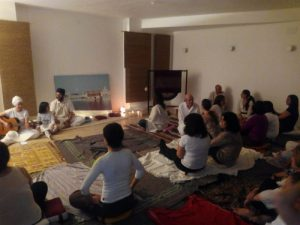 Jio ioga i meditació inauguració Barcelona 1